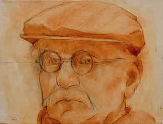 CHARLOTTE ANDRY GIBBS - Barney (Portrait of Barnet Rubenstein)