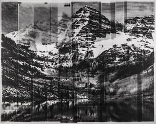 WILLIAM VAN BECKUM, MFA 17 - Maroon Bells after Ansel Adams