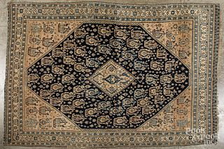 Caucasian throw rug, early 20th c.