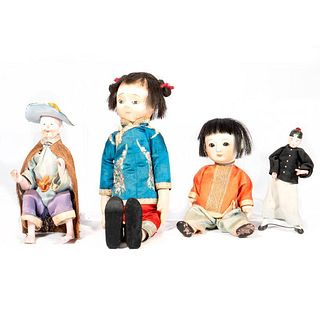 Vintage Chinese Dolls.