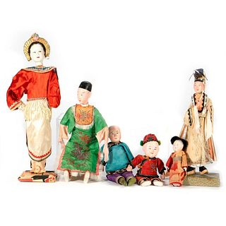 Vintage Japanese and Chinese Dolls