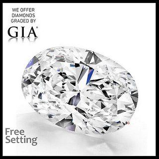 4.21 ct, F/IF, Oval cut Diamond. Appraised Value: $319,900