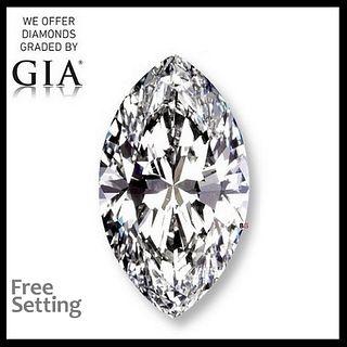 3.03 ct, D/FL, Marquise cut Diamond. Appraised Value: $296,500