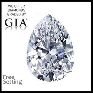 2.07 ct, E/IF, Pear cut Diamond. Appraised Value: $60,500