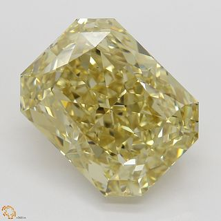 7.02 ct, Brn. Yellow, VS1, Radiant cut Diamond. Appraised Value: $127,600