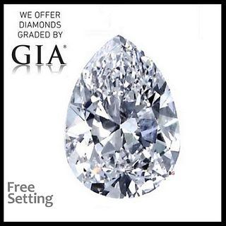 1.05 ct, E/IF, Pear cut Diamond. Appraised Value: $12,900