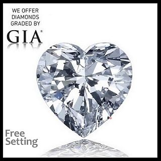 1.51 ct, D/IF, Heart cut Diamond. Appraised Value: $35,100