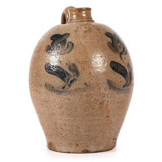 A Cobalt-Decorated Pennsylvania Stoneware Two Gallon Jug