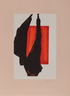 ROBERT MOTHERWELL, (American, 1915-1991), Art, 1981