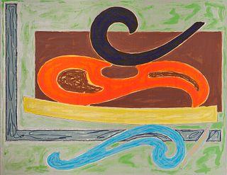 FRANK STELLA, (American, b. 1936), Eskimo Curlew, 1977