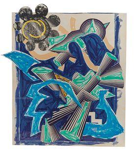 FRANK STELLA, (American, b. 1936), Had Gadya: Back Cover, 1982-84