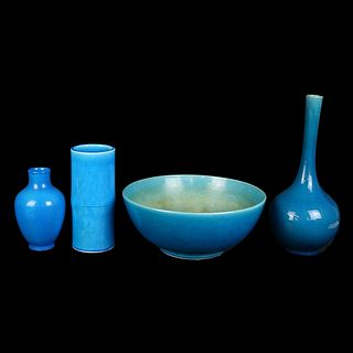 Four (4) Modern Chinese Style Tableware