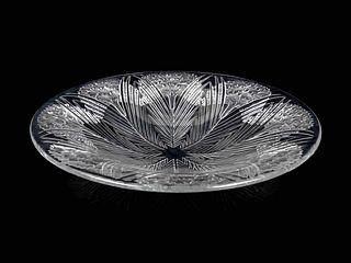 A Lalique Oeillets Charger