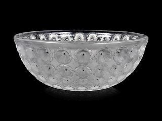 A Lalique Nemours Bowl
