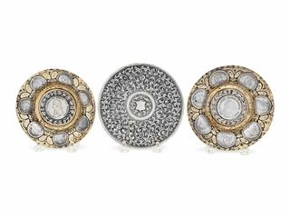 Three Continental Silver Dishes