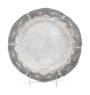A French Silver Dish