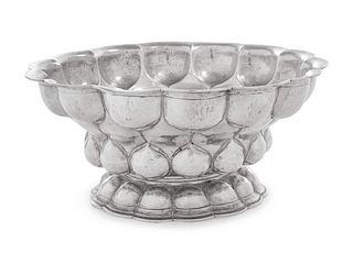 A German Silver Centerpiece Bowl