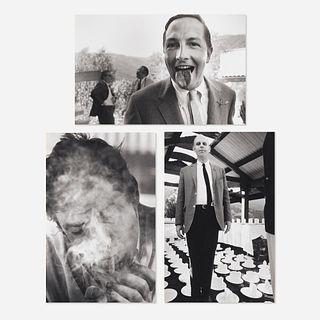 Dennis Hopper, Robert Rauschenberg, Claes Oldenburg and John Altoon (three works)