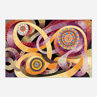 Liz Whitney Quisgard, Ribbons and Circles from Swingshift series