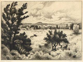 Gene Kloss, Indian Summer, 1943