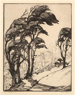 Gene Kloss, From Telegraph Hill, 1926