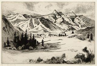 Gene Kloss, Rocky Mountain Valley, 1963