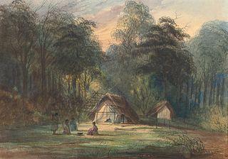 William George Richardson Hind, Indian Campground
