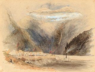 Frederick Whymper, Yale, British Columbia, 1865