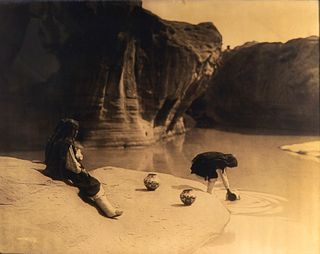 Edward Curtis, At the Old Well of Acoma, 1904
