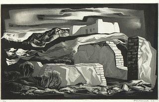 Doel Reed, The Morada, 1956