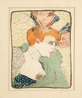 Henri de Toulouse-Lautrec, Mademoiselle Marcelle Lender en Buste, 1895