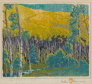 Gustave Baumann, Mountain Gold, 1926