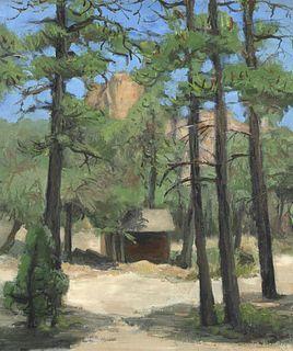 Walt Kuhn, Cabin in the Pines, ca. 1928-1935