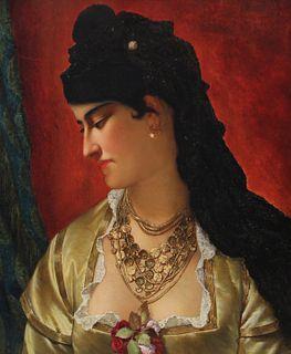 JAN FREDERIK PIETER PORTIELJE (BELGIAN, 1829-1895/