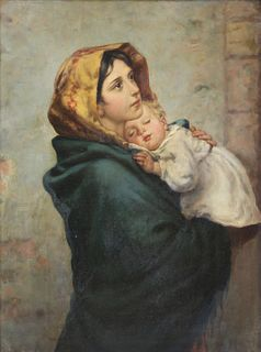 F SCALINI (ITALIAN, 19TH CENTURY).