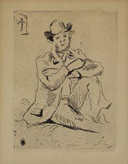PAUL CEZANNE (FRENCH, 1839-1906).