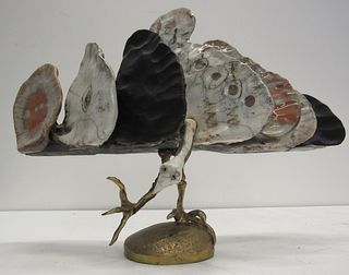 Jean Linard  (FR1931 - 2010) Signed Bird Sculpture