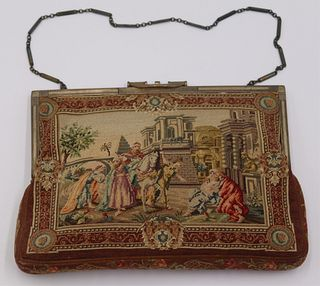 STERLING. Tiffany & Co. Sterling Petit Point Purse