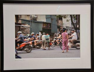 Garrett Cotham, Bicycle Crossing, Hanoi