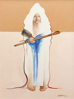 Bert Seabourne (American, b. 1931) Cheyenne Love Flute, 1981