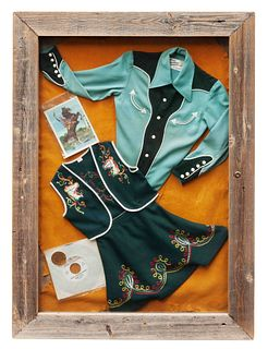 Gene Autry Western Wear and Poster