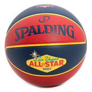 Limited-edition 2007 All-Star Las Vegas basketball