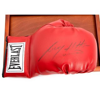 Autographed Boxing Glove By Ricky Hatton