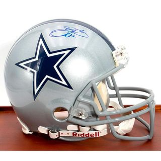 Emmitt Smith Dallas Cowboys Autographed Riddell Pro-Line Authentic Helmet
