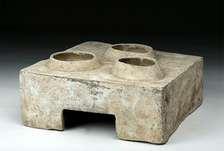 Chinese Han Dynasty Stoneware Model of Stove