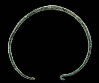 Greek Thracian Copper Neck Torc