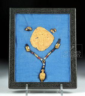 Greek / Roman 20K Gold Jewelry - Earrings & Pendants