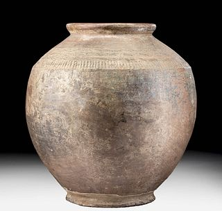 Huge Indus Valley Harappan Incised Pottery Jar