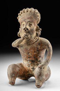 Nayarit Seated Smoker Figure