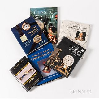 Six Wristwatch- and Watch-related Reference Books, Frederic Houriet, The Father of Swiss Chronometry; Watches of Fantasy 1790-1850; Mar